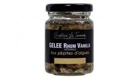 Gelée Artisanal - Rhum Vanille aux pépites d'algues