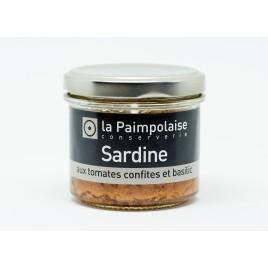 Sardines - aux tomates confites et basilic