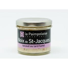 Rillettes de Saint Jacques au lard fumé - La Paimpolaise Conserverie