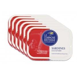 Sardines à la tomate - lot de 6