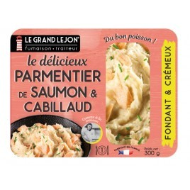 Salmon and Cod parmentier