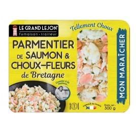 Parmentier au Saumon & Chou-fleur de Bretagne