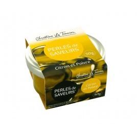 Perles de Saveurs - Citron et poivre