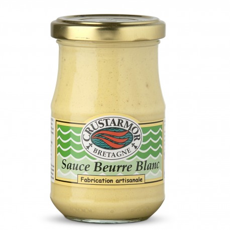 Sauce Beurre Blanc - accompagnement poisson - Crustarmor