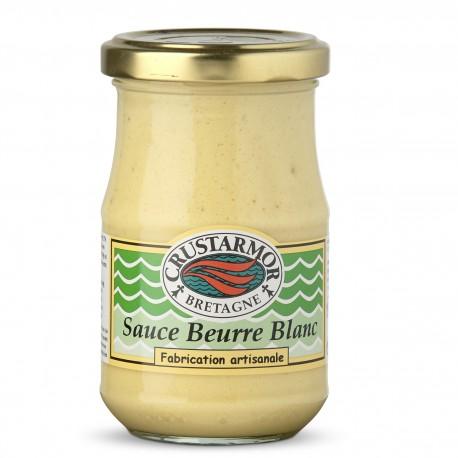 Sauce Beurre Blanc - accompagnement poisson - Crustarmor