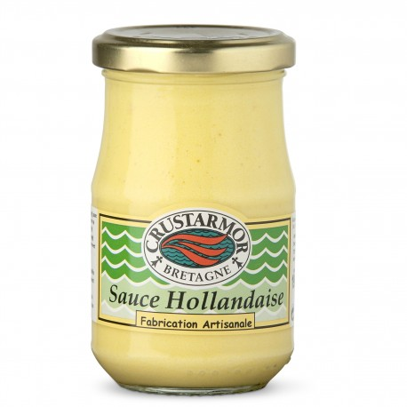 Sauce Hollandaise - accompagnement poisson - Crustarmor