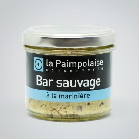 Rillettes de Bar Sauvage - La Paimpolaise Conserverie