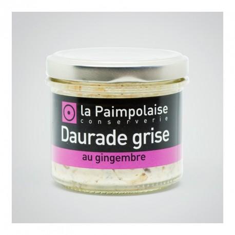 Tartinable de dorade grise au gingembre - 80g