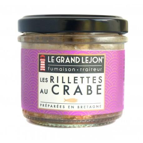 Rillettes de crabe