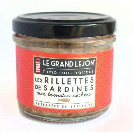 Rillettes de sardines aux tomates séchées