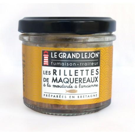 Rillettes de maquereaux à la moutarde à l'ancienne