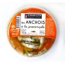 Anchois marinés à la provençale