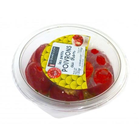 Petits poivrons farcies au thon