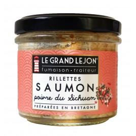 Rillettes de saumon poivre de Sichuan