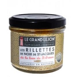 Rillettes de noix de St-Jacques de la Baie de St-Brieuc