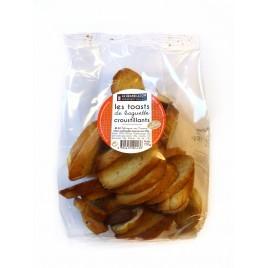 Toasted & crispy baguettes