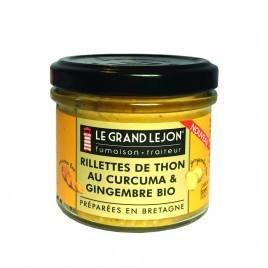 Rillettes de thon, au curcuma et gingembre BIO