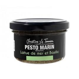 Pesto d'algues basilic & huile d'olive - 90g