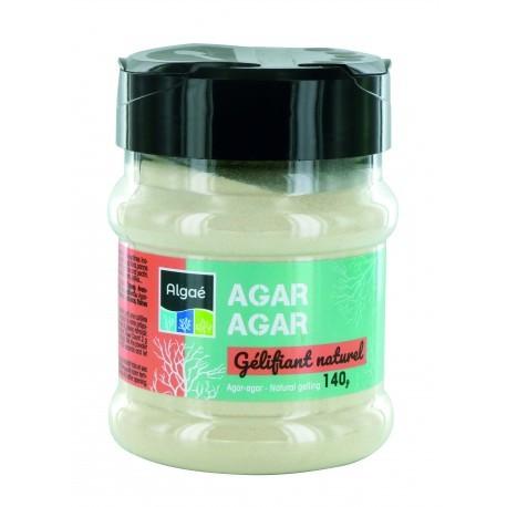 Agar agar en poudre - pot de 140g - Miss algae