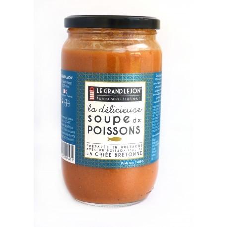 Soupe de poisson - la délicieuse - 740g