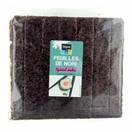 Feuilles de nori 20g Algae