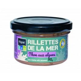 Rillettes de thon aux algues marines