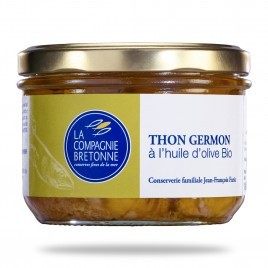 Thon Germon à l'huile d'olive Bio - 180g