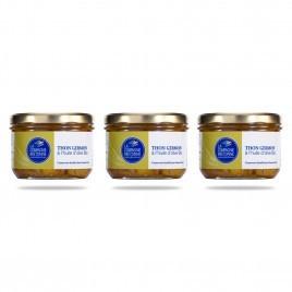 Thon Germon à l'huile d'olive Bio - Lot de 3