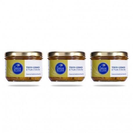 Whtie tuna chunks & organic olive oil - 135g