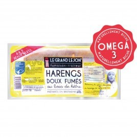Filets de Hareng fumé - lot de 200g