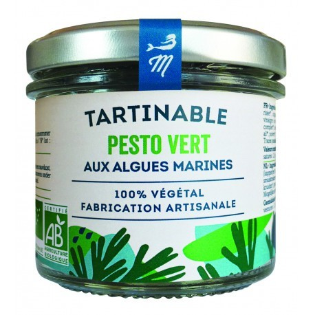 Tartare d'algues pesto vert - Marinoë