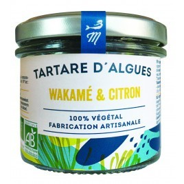 Lemon and wakame tartare