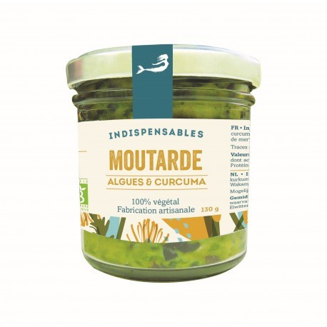 Moutarde - Algues & Curcuma - 130g