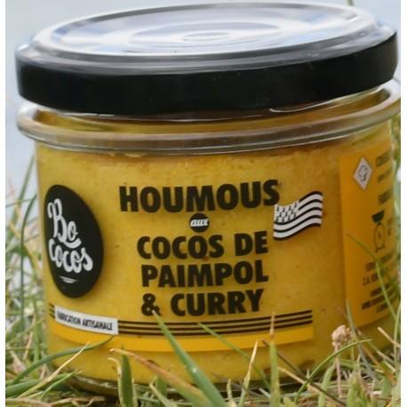 Houmous aux cocos de Paimpol & curry - 90g