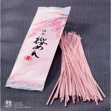 Sômen Sakura Men à la feuille de cerisier Sakura