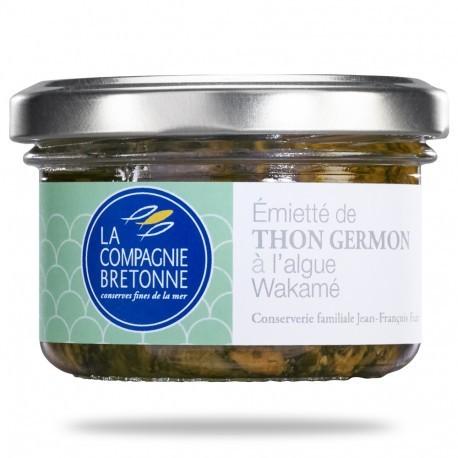 émietté de thon germon à l'algue wakamé