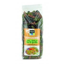 Torsadines aux 4 algues