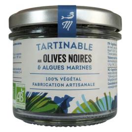 Tartare d'algues et olives - Marinoë