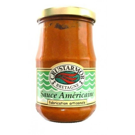 Sauce Américaine - accompagnement poisson - Crustarmor