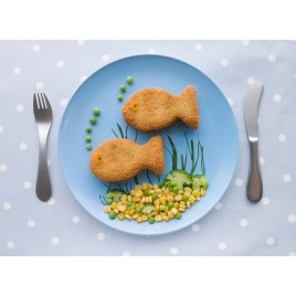 Breaded fish - 2 pieces