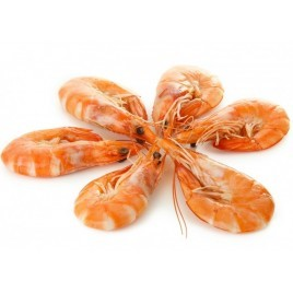 Pink Shrimps - Cooked - 500g