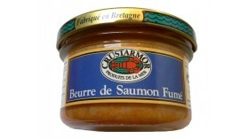 Beurre de Saumon Fumé - Crustarmor