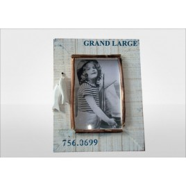 "Porte photo en bois ""Grand Large"""
