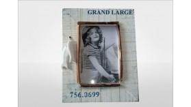 """Porte photo en bois """"Grand Large"""""""