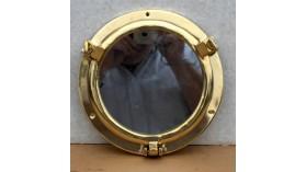 Miroir hublot en laiton