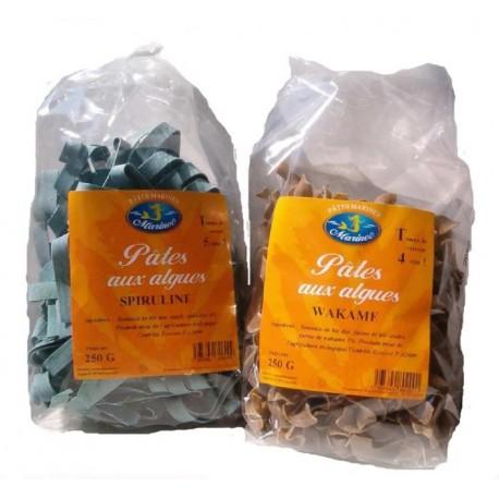 Pâtes aux algues BIO à la Wakamé