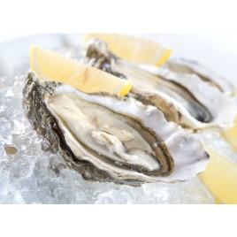 Bourriche de 24 huîtres creuses N°2 spéciales de St Riom