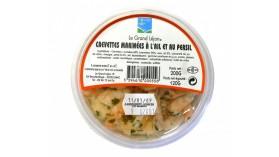 Crevettes roses marinées à l'ail & persil - Le Grand Léjon
