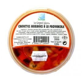 Crevettes marinées à la provençale - Le Grand Léjon