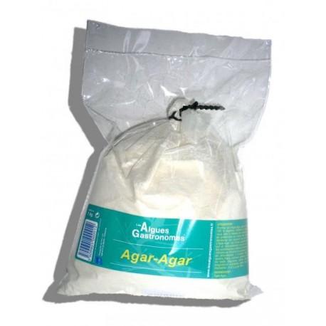 Agar agar en poudre - sachet 1kg - Les Algues Gastronomes